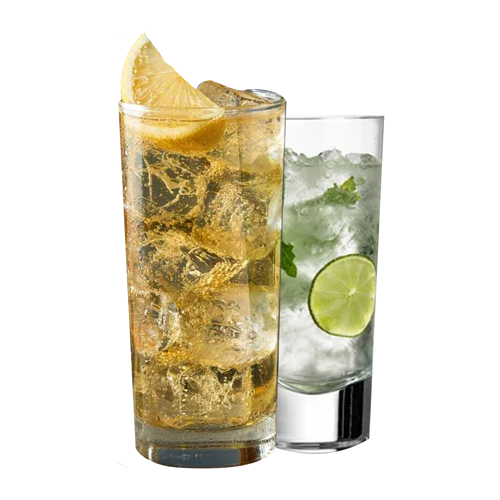 Various highball drinks