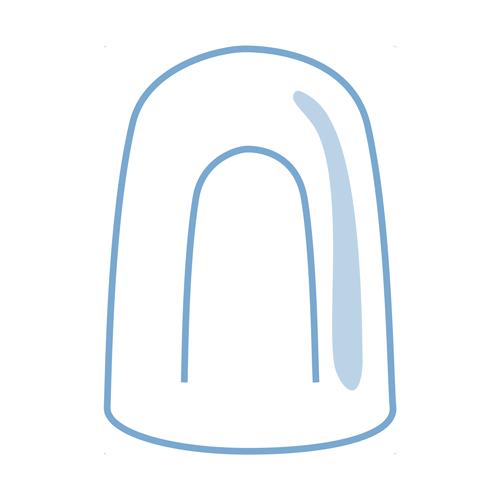 Hollow ice icon
