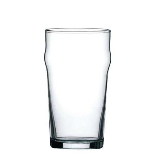 empty standard pint glass