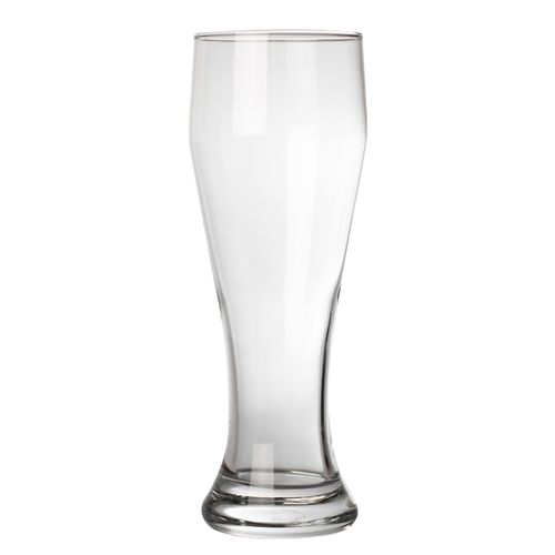 empty tall pint glass