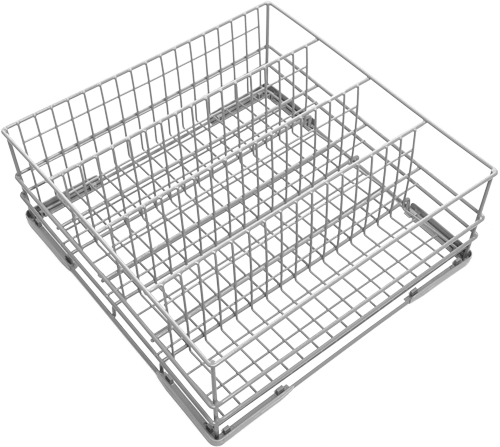 Divided Glass Baskets
