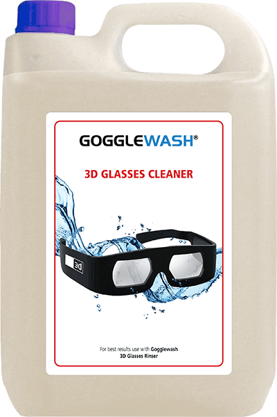 Gogglewash 3D Glasses Cleaner